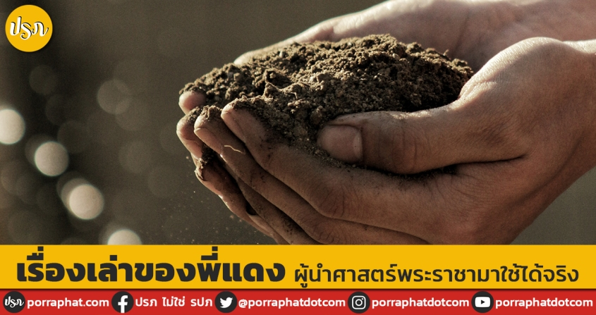 Hand with full soil
