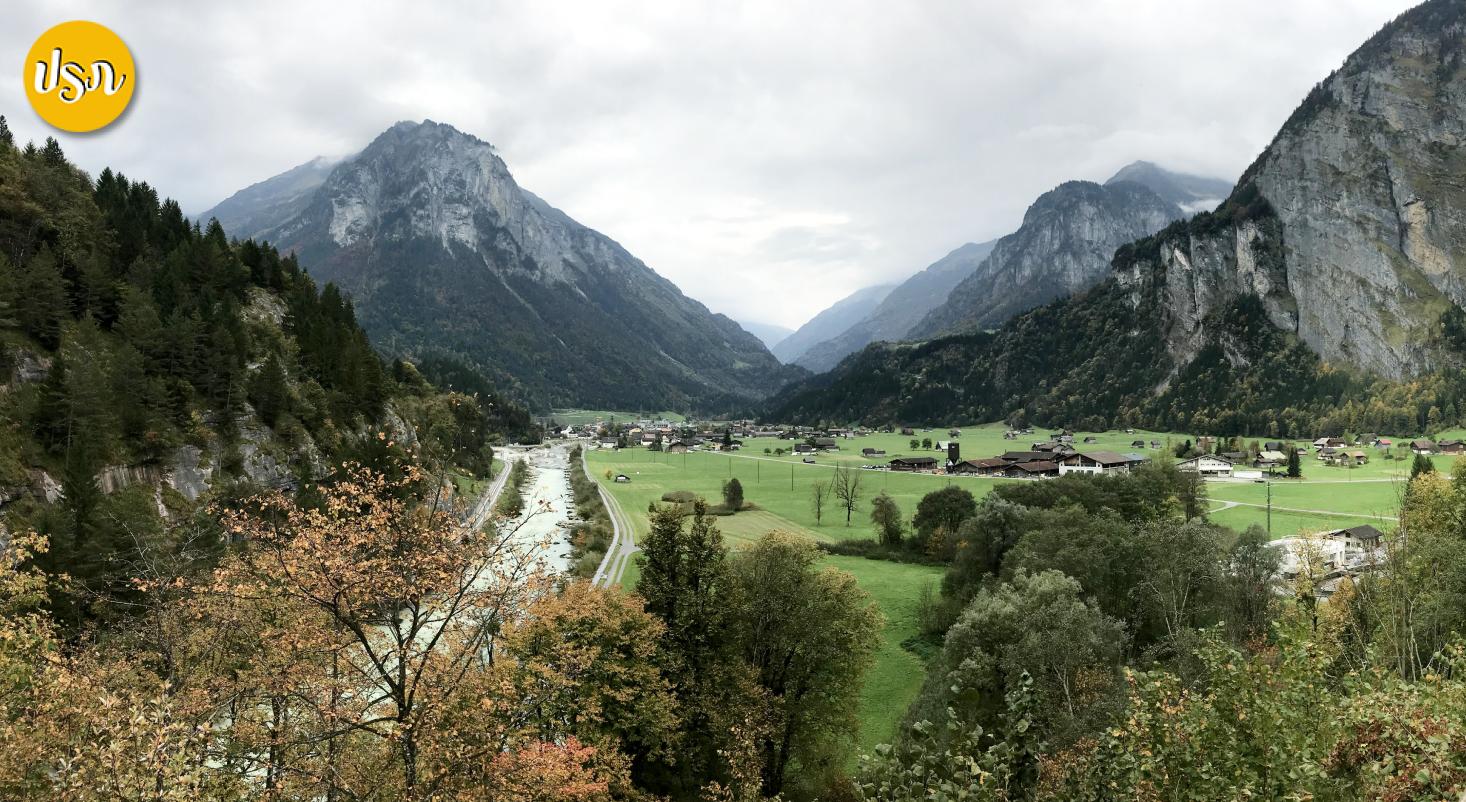 Unseen Switzerland: รีวิว Aareschlucht